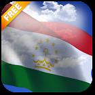 3D Tajikistan Flag icon