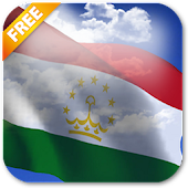3D Tajikistan Flag Live Wallpaper