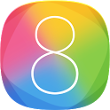 iOS 8 Launcher HD Retina Theme icon