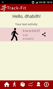 TrackFit - screenshot thumbnail