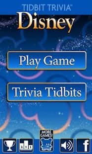 Disney Movies - Tidbit Trivia