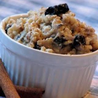 Brown Rice Porridge.