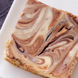 Nutella Swirl Cheesecake Bars Recipe