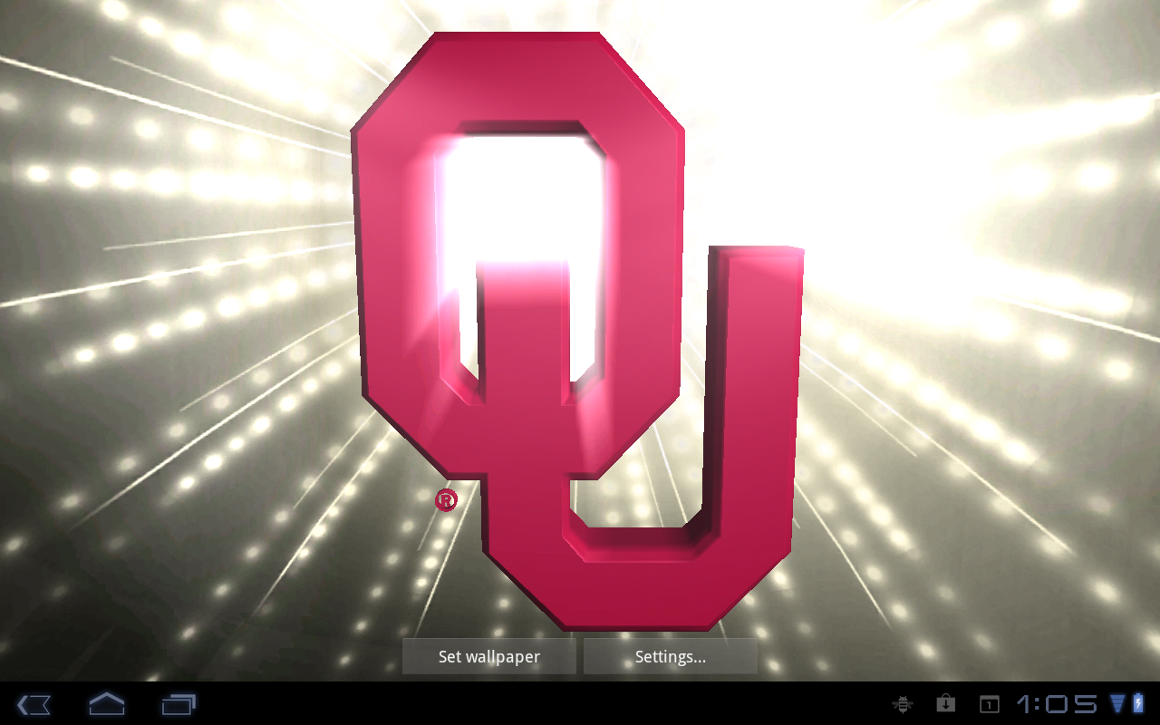 Oklahoma Sooners LIve WPs- screenshot