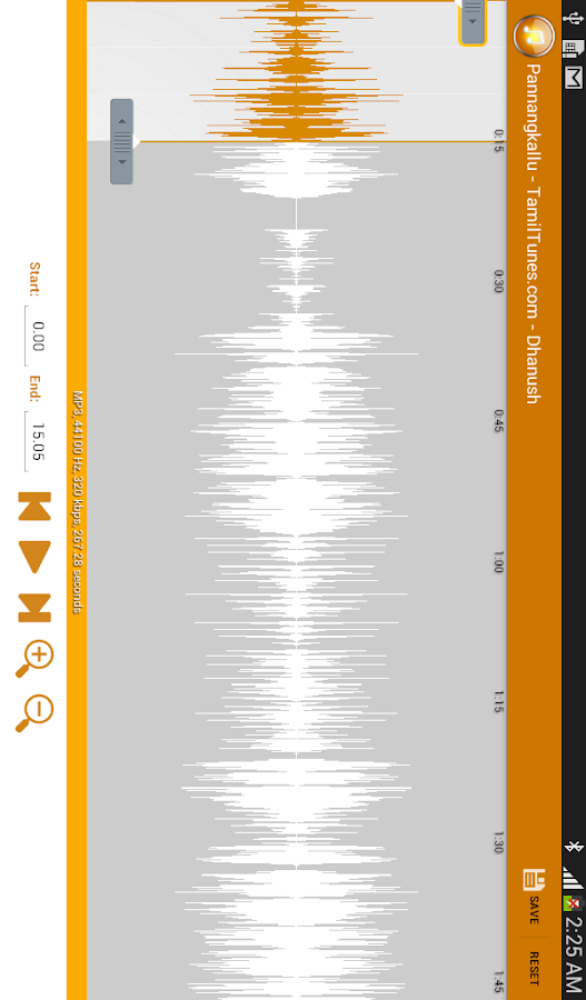 Mp3 cutter Ringtone Maker- screenshot