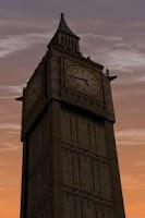 Screenshot of London LWP Big Ben