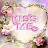 Flower Heart Kiss Me Live Wall logo