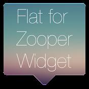 Flat for Zooper Widget