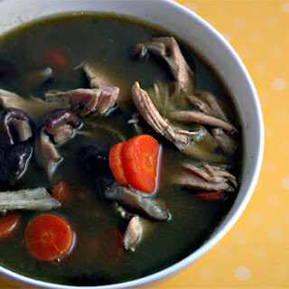 Green Chicken Soup
