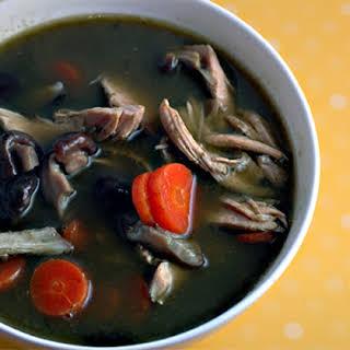 Green Chicken Soup.