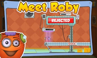 Screenshot of Rescue Roby FULL FREE