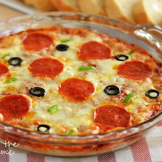 Warm Pizza Dip