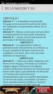 Constitución de Uruguay - screenshot thumbnail