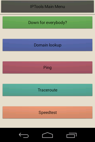 IP Tools - screenshot