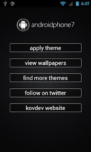 AndroidPhone7 (ADW Theme) - screenshot thumbnail