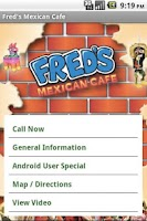 Screenshot of Fred's Mexican Cafe
