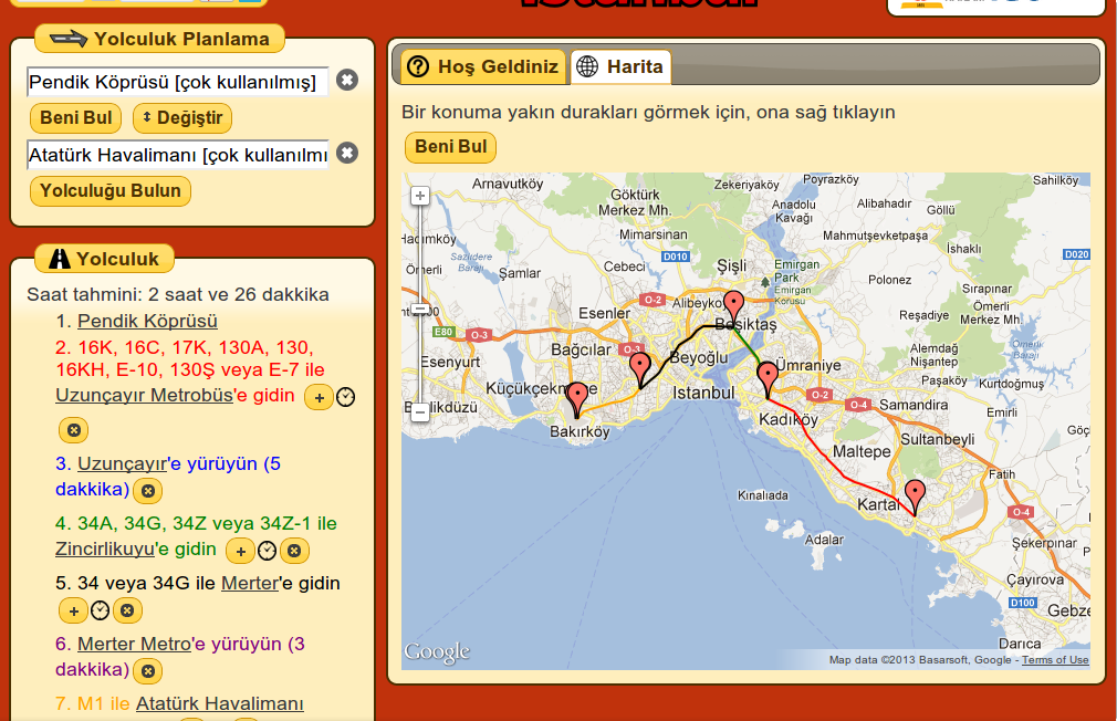 Ankara journey planner android apps on google play ankara journey planner screenshot gumiabroncs Image collections