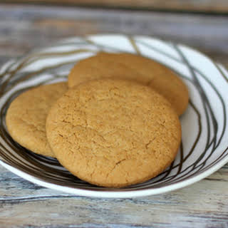 Butter Tea Cakes with Brown Sugar.