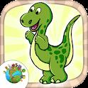 Dinossauro jogos para crianças icon