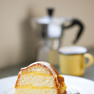 Gluten-Free Layered Lemon Pound Cake with Meyer Lemon Curd Recipe
