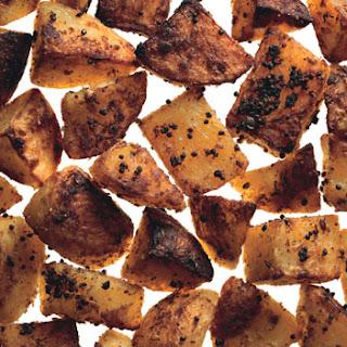 Mustard and Coriander Roasted Potatoes