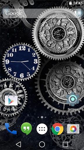 Mechanical Clock Live Walpaper