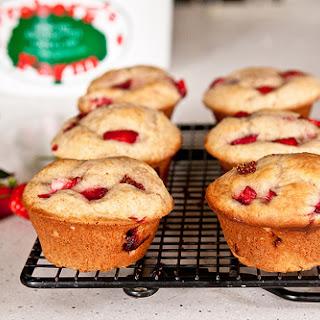 Strawberry Cream Cheese Muffins.