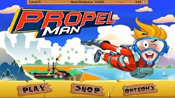 Screenshot of Propel Man