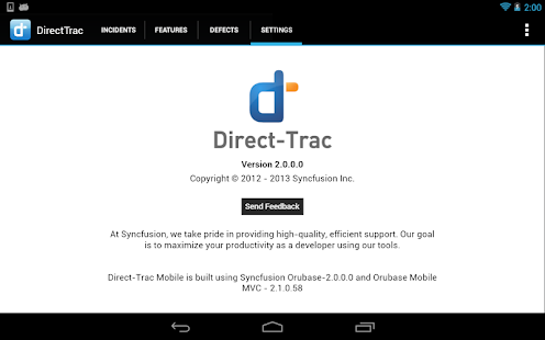 DirectTrac - screenshot thumbnail