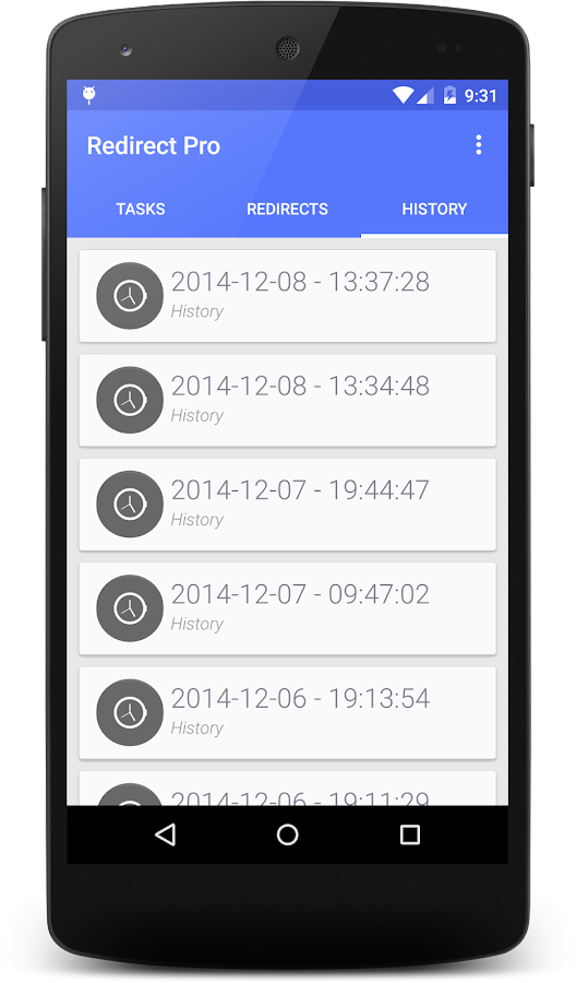 Redirect File Organizer- screenshot
