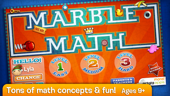 Marble Math- screenshot thumbnail