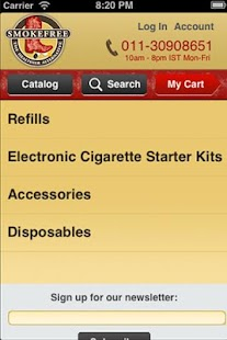 SMOKEFREE - screenshot thumbnail