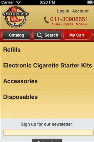 SMOKEFREE - screenshot
