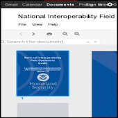 NIMS Natl Interoperability FOG