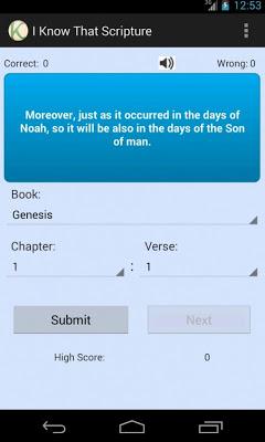 Know Your Bible - screenshot