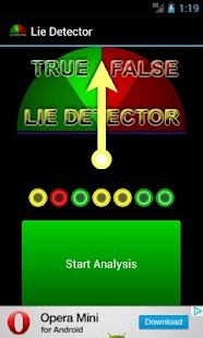 Lie Detector for FUN - screenshot thumbnail