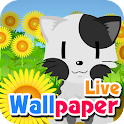 Sunflower cat -livewallpaper-