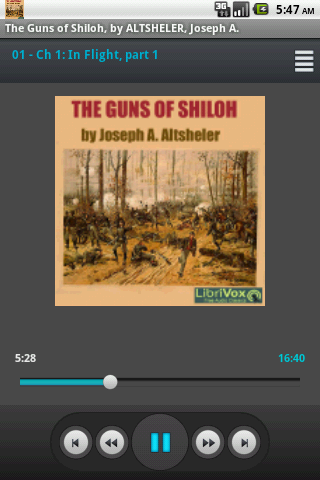 Audiobook: The Guns of Shiloh