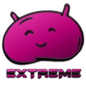 JB Extreme Launcher Theme Pink
