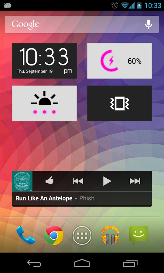 Clean Widgets- screenshot