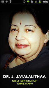 J.Jayalalitha Chief Minister- screenshot thumbnail