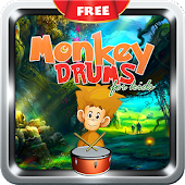 Monkey Drums for Kid-Music Fun