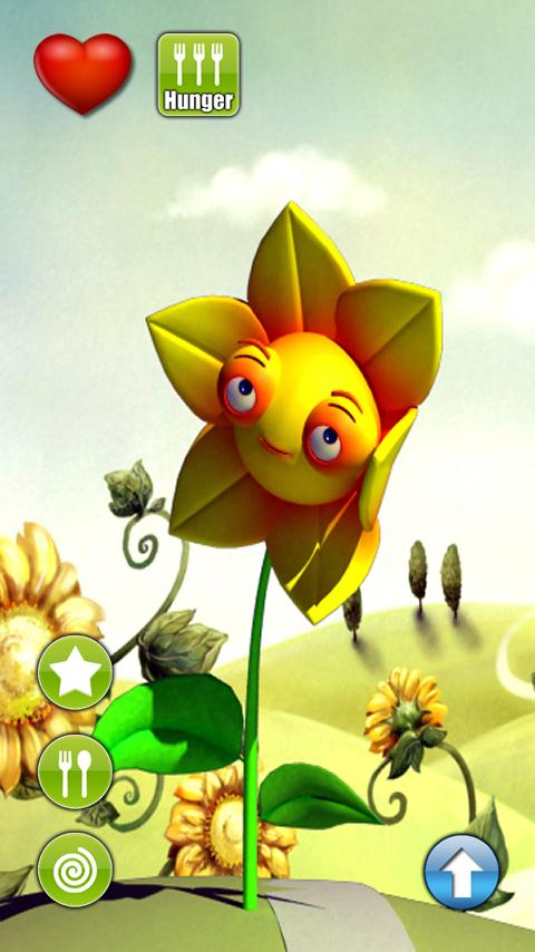 Talking Sonny Sunflower - screenshot