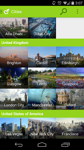 Triporg: Travel City Guides