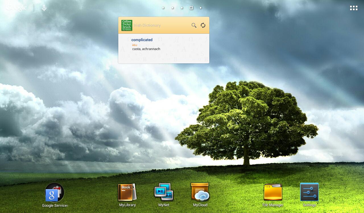 Collins Irish DictionaryTR - screenshot