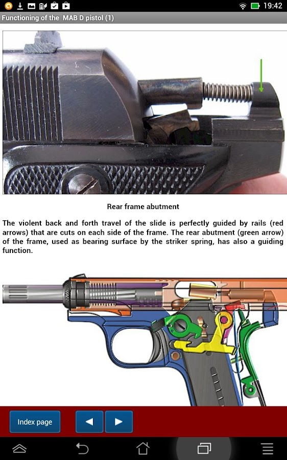 French MAB D pistol explained- screenshot