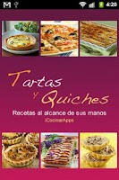 Screenshot of iCocinar Tartas y Quiches