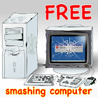 Crazy Smashing Computer icon