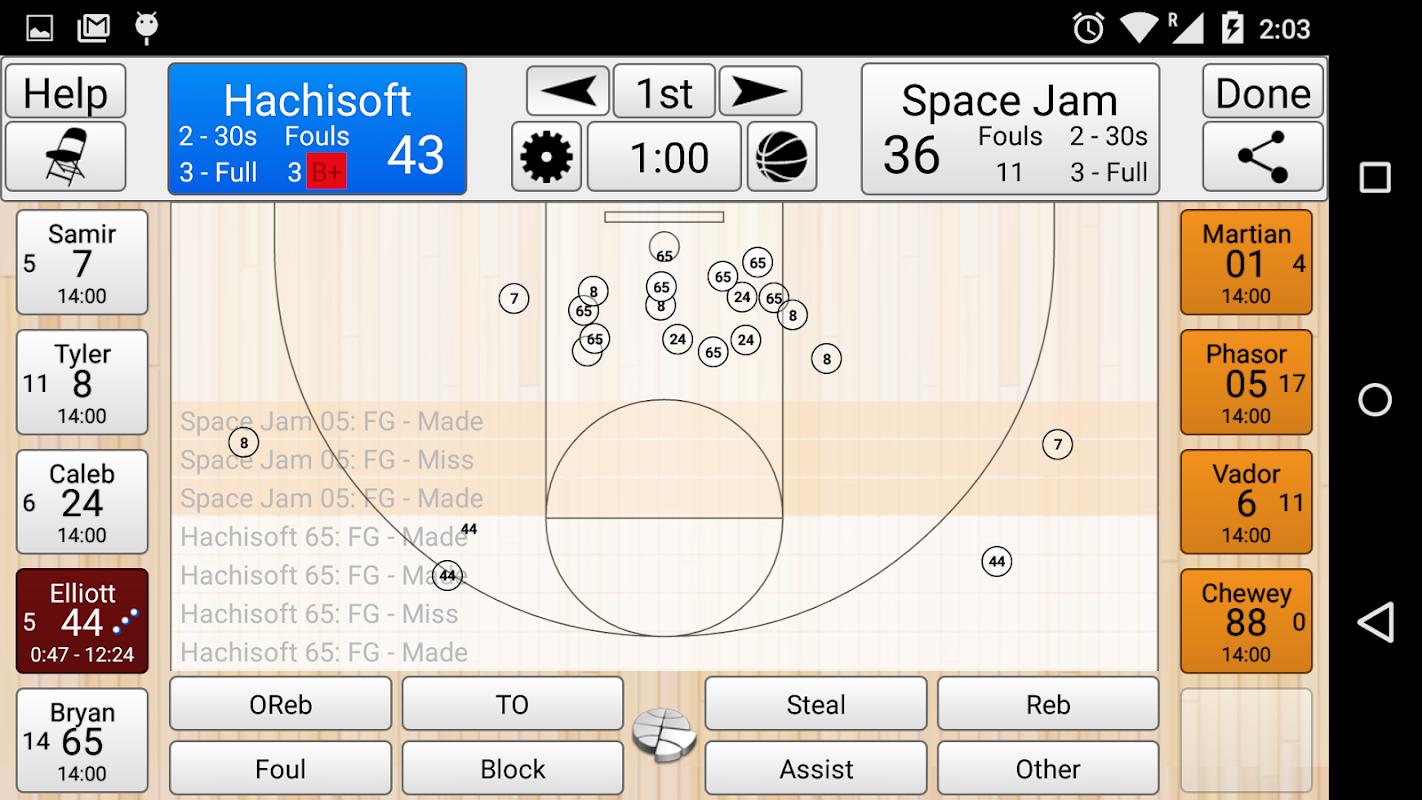 Basketball Stat Tracker APK 2 2 9 Download - Free Games APK