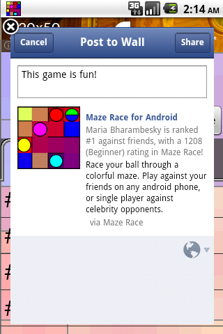 Maze Race- screenshot